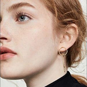 Gorjana 18k gold plated drop earrings